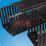RCCN  HVDR Narrow Slot Wiring Duct(black)