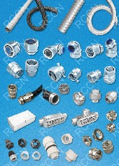 RCCN metal flexible conduit fittings